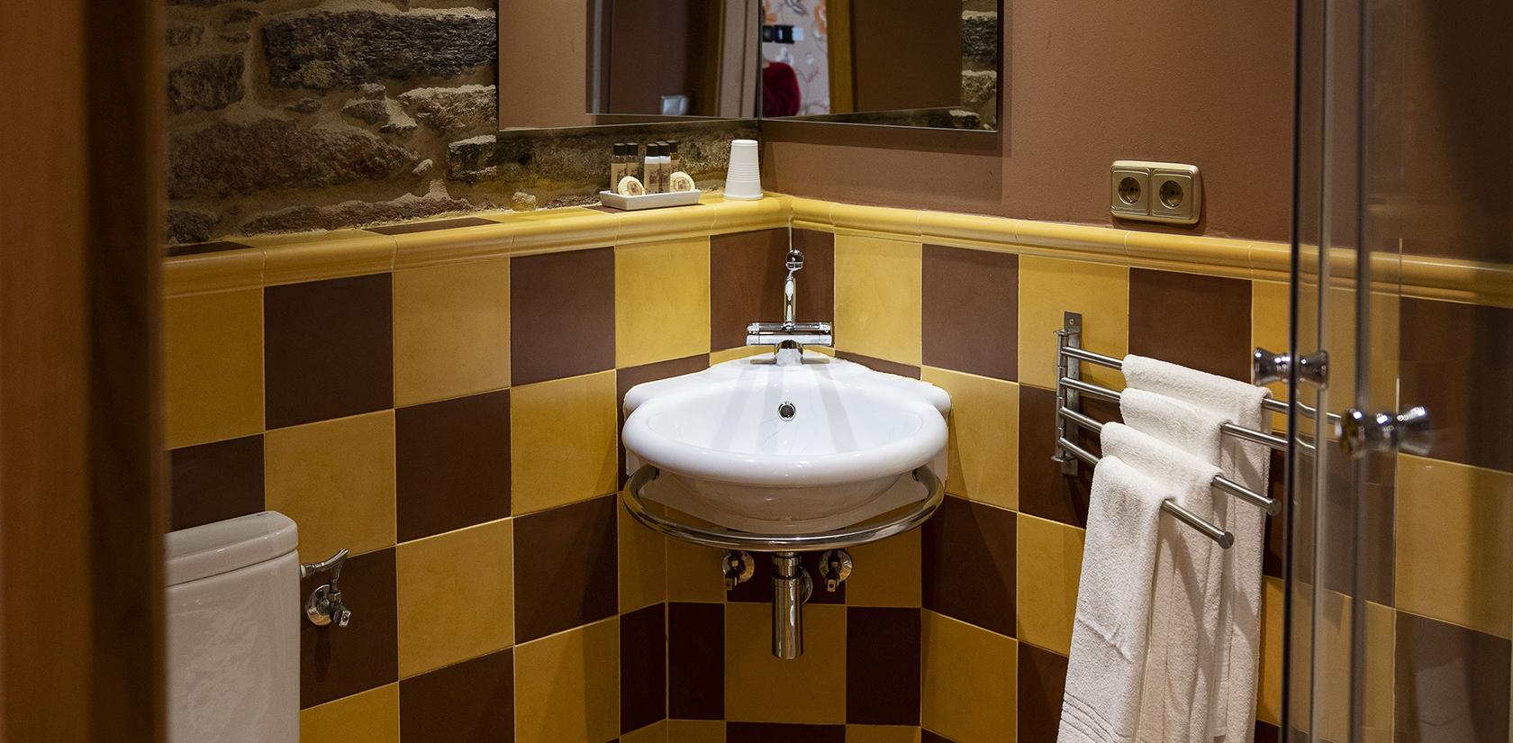 Habitación Ons, detall del baño