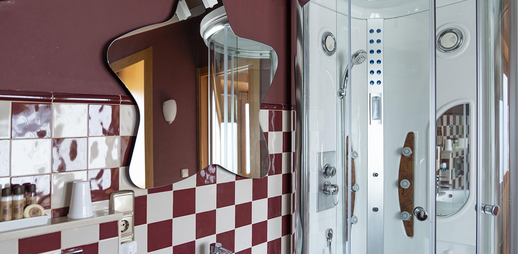 Habitación Arousa, detalle del baño