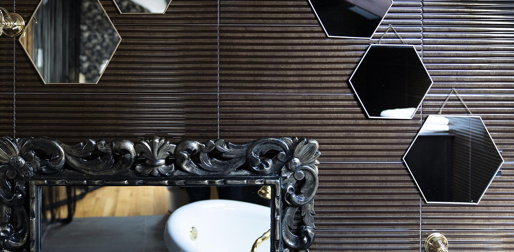 Habitación Malveiras, detalle del baño